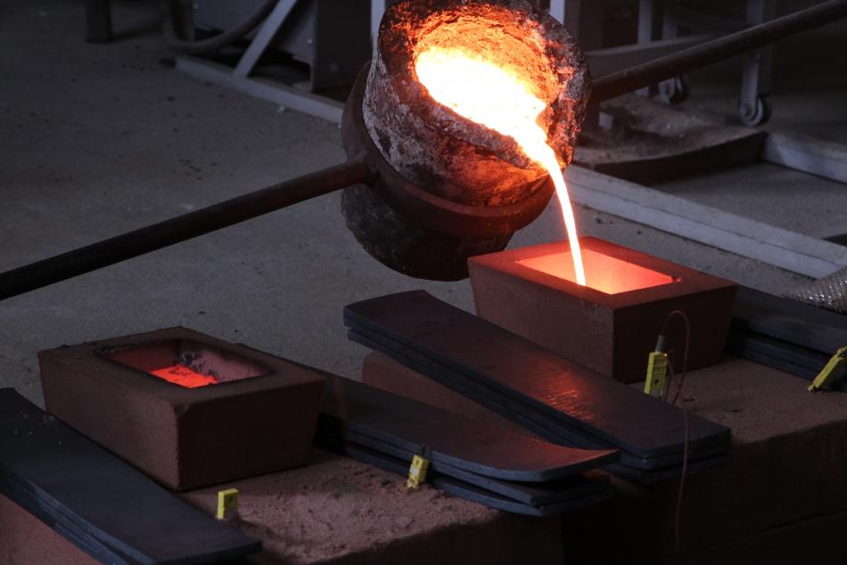 Fundindo o ferro