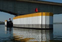 Estruturas integradas criadas pelo IPT protegem pilares de pontes dos impactos gerados por colisões